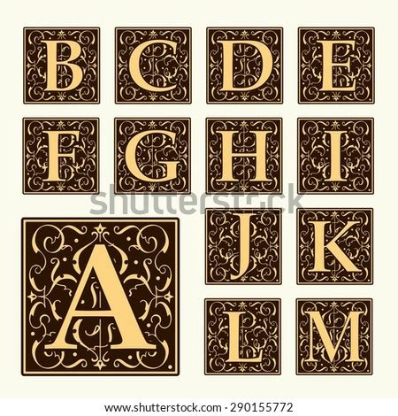 monogram initials stock  images pictures shutterstock