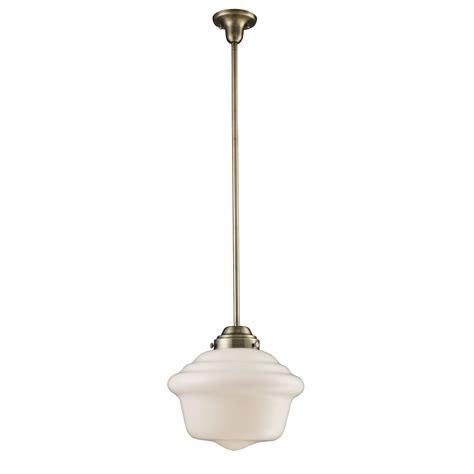 landmark lighting  light schoolhouse pendant reviews