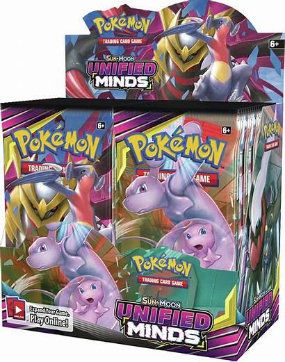 Pokemon Minds Unified Moon Sun Booster Box