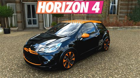 forza horizon  citroen ds racing youtube