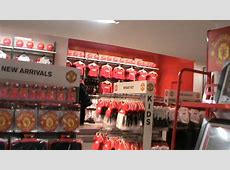 Official Manchester United Store in Old Trafford!! YouTube