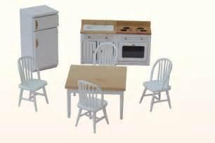 dollhouse kitchen furniture dollhouse kitchen wooden furniture 1 12th scale set ebay