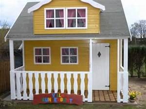 Spielhaus Selber Bauen Bauplan : kinderspielh user youtube ~ Watch28wear.com Haus und Dekorationen