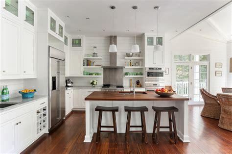 sullivans island beach house  beach style kitchen