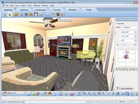 home design free software hgtv home design software inserting interior objects