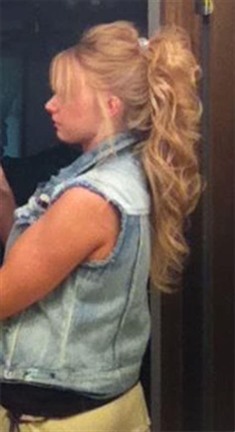 banana hair clip styles banana clip hair style ponytail hairstyles 5757