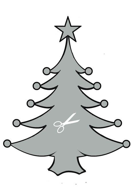 weihnachtsbaum schablone bastelanleitungen de hellokids com