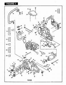 Mcculloch 32cc Gasoline Chain Saws Parts