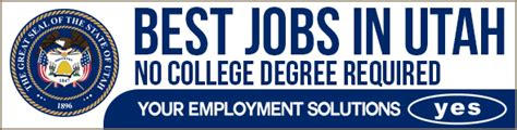 Top 5 Jobs In Utah  No College Degree Required Your
