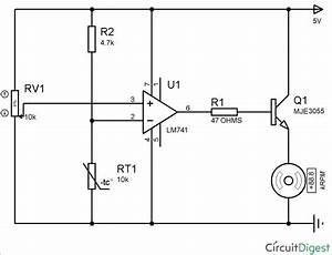 Temperature Controlled Dc Fan Using Thermistor  Project