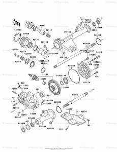 Kawasaki Atv 1997 Oem Parts Diagram For Drive Shaft