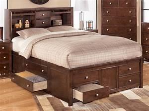 Größe King Size Bed : full size king storage bed stroovi ~ Frokenaadalensverden.com Haus und Dekorationen