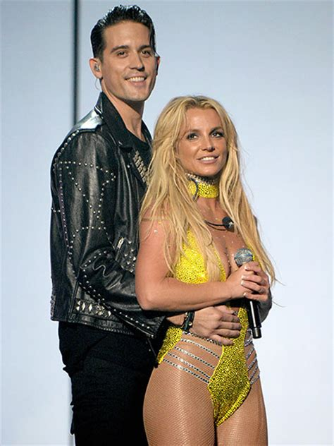 Britney Spears: G-Eazy Didn't Try to Kiss at VMAs, Blessed