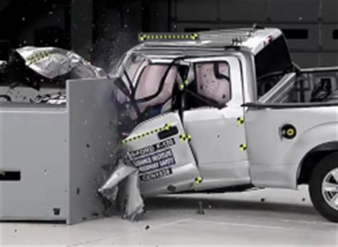 ford   aluminum body crash test results