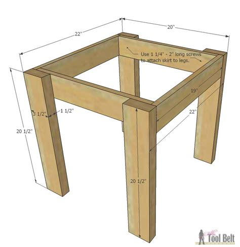 how to make table legs from wood simple kid 39 s table and chair set her tool belt
