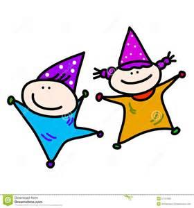 Cartoon Kids Birthday Party