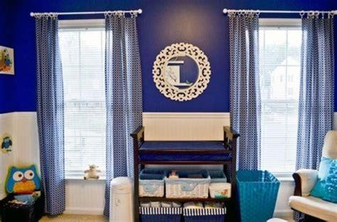 blue  white nursery bedroom design   boy kidsomania
