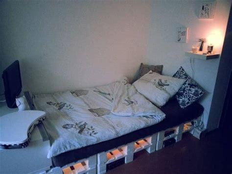 diy  pallet bed frame ideas  pallets