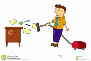 Clean Desk Policy Template Cleaning My Desk Stock Illustration Illustration Of Vaccum 29252637