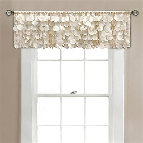 14 Inch Valance by Buy Gigi 70 Inch X 14 Inch Window Valance In Ivory From