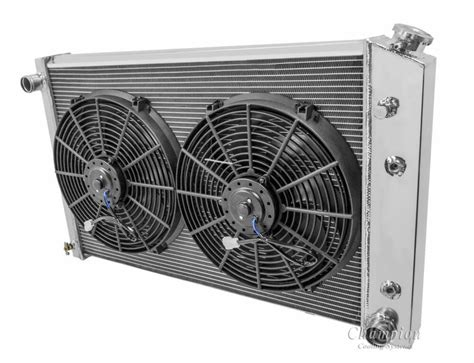 chevy pickup truck radiator dual  fans
