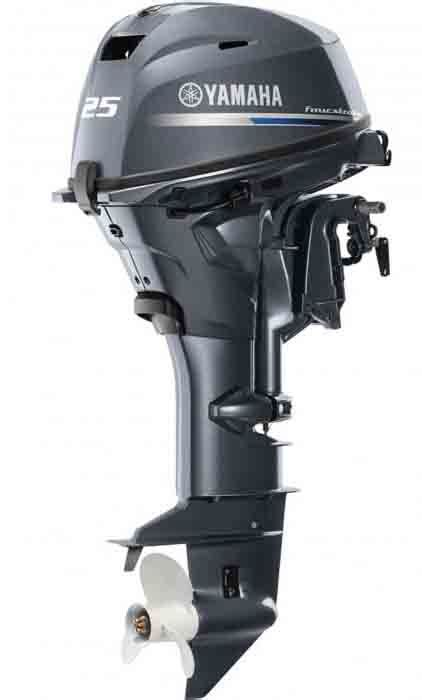 Outboard Boat Motors For Sale by 25hp Outboards For Sale Yamaha 4 Stroke Boat Motors F25smhc