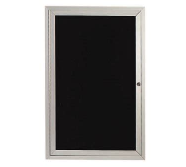 aarco products adc2418l enclosed aluminum directory board