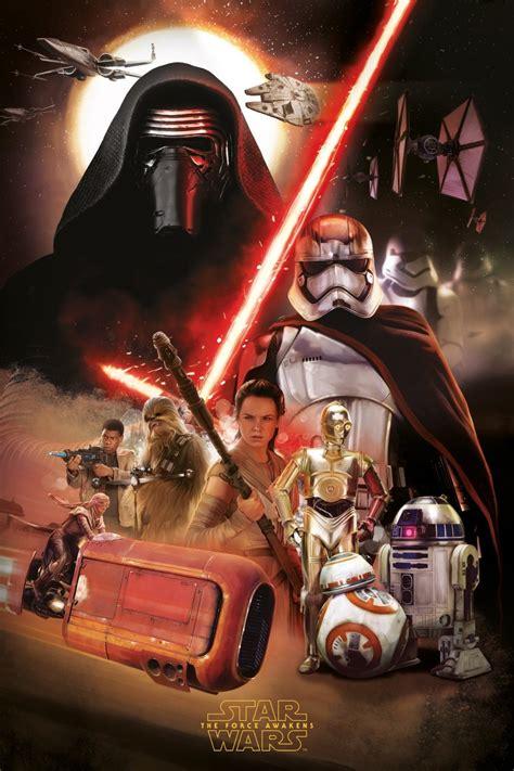 star wars wars poster awakens