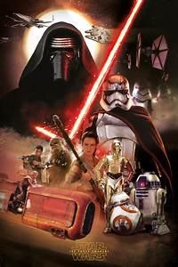 Poster Star Wars : star wars poster art force awakens ~ Melissatoandfro.com Idées de Décoration