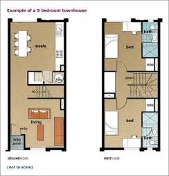 row home floor plans kitchen counter design townhouse floor plans town house