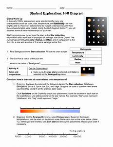 Diagram  The Hertzsprung Russell Diagram Answers Full