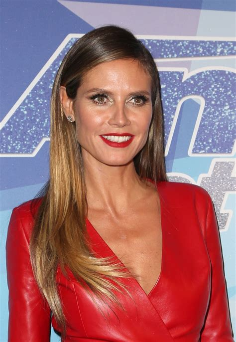 Heidi Klum America Got Talent Season Final Week Red