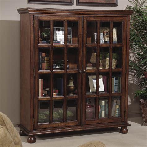 Short Bookcases With Doors Photos Yvotubecom