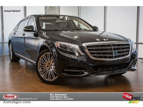 All of the optional driving. 2016 Mercedes-Benz S Mercedes-Maybach S600 Sedan in Anthracite Blue Metallic photo #6 - 150304 ...