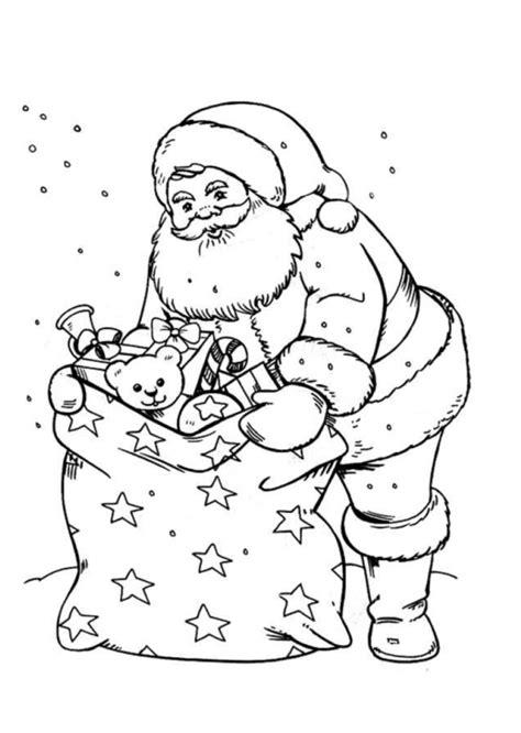 konabeun zum ausdrucken ausmalbilder weihnachtsmann