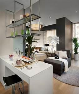 cuisine ouverte sur salon une solution pour tous les With amenagement cuisine petit espace