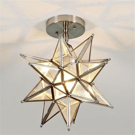 Moravian Star Light by Moravian Star Ceiling Light Available In 2 Colors