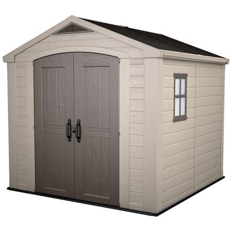 keter storage sheds nz keter factor garden shed 8 x 8 bunnings warehouse