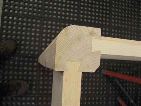 attaching apron  table legs woodworking talk