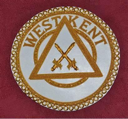 Apron Badge Badges Provincial Masonic Arch Royal