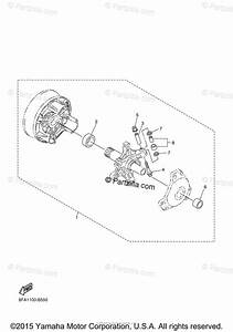 Yamaha Snowmobile 2012 Oem Parts Diagram For Alternate