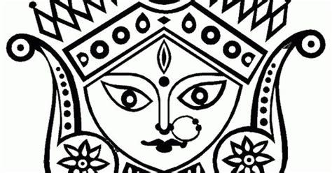 Pencil Drawings Of Goddess Durga & Ganesha