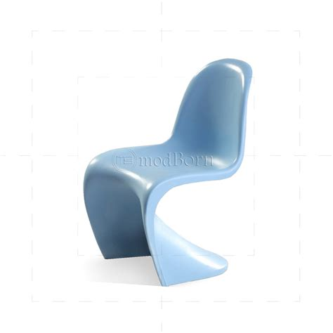 verner panton chair blue replica