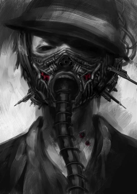 18 best images about masks on cyberpunk gas