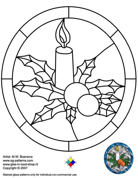 stained glass patterns for free christmas glass pattern