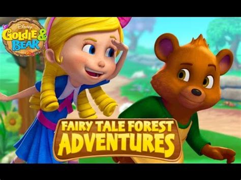 disney goldie bear fairy tale forest adventures games