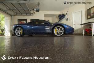 mica garage floor coating houston photo shoot