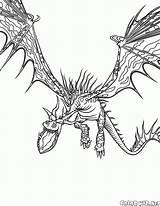 Colorare Dragon Terrible Coloring Monster Dragons Disegni Train Colorear Stormfly Malvorlagen Mostro Monstruo Leicht Colorkid Gemacht Trainer Drago Terribile Gobber sketch template