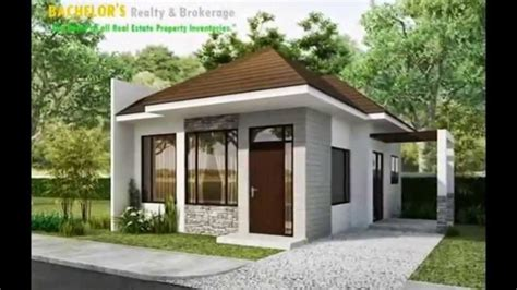 two small house plans 1 storey single detached house in talamban cebu 2 bedroom