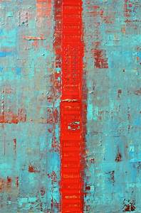 primitive abstract line 2016 acrylic painting by